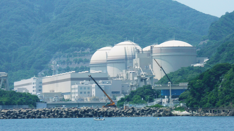 The Japanese government shut down all of the country's nuclear reactors after Fukushima. It recently restarted two of them at the power plant in Ohi (shown here on July 26), along the Sea of Japan.