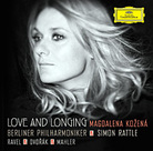 Magdalena Kozena sings Mahler, Dvorak and Ravel on her new album.