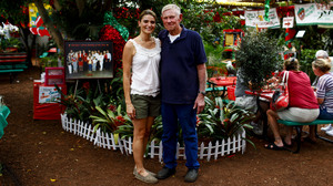Parkesdale Farm Market in Plant City, Fla., is run by Jim Meeks, 70, and his extended family, including his daughter-in-law Xiamara Meeks, 36. Business is booming and the stand has been a mainstay of presidential campaign stops since the days of George H.W. Bush.