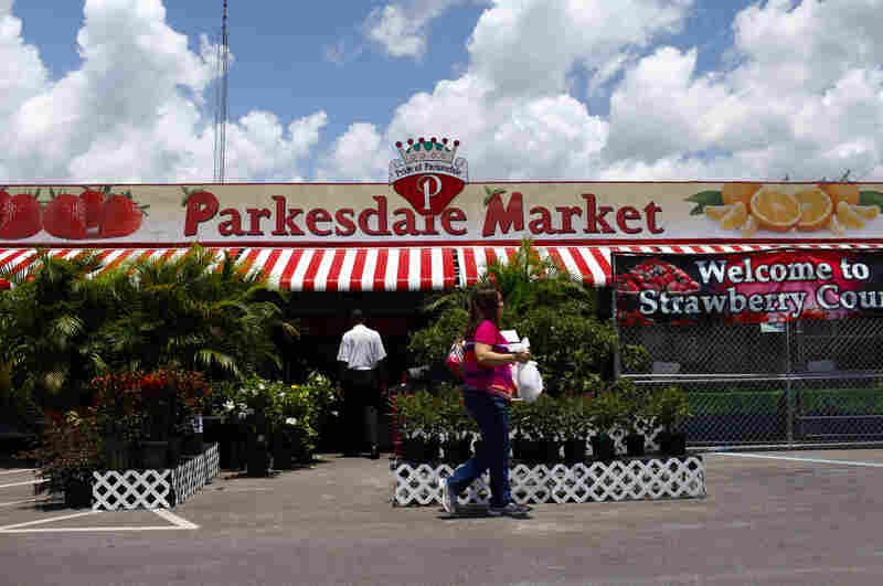 Founded in 1956, the Parkesdale Farm Market is the largest family-operated strawberry market in Florida.