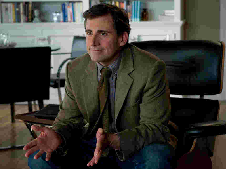 Steve Carell plays Dr. Bernard Feld, Kay and Arnold's marriage counselor. The therapy scenes between the three go on for longer than expected and play like chamber pieces for the theater.