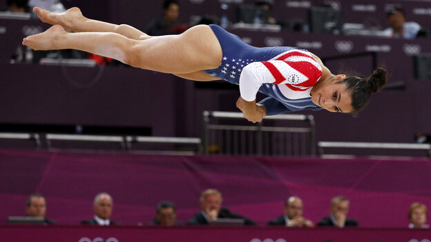 Gymnast Aly Raisman became the first American woman to win a g
