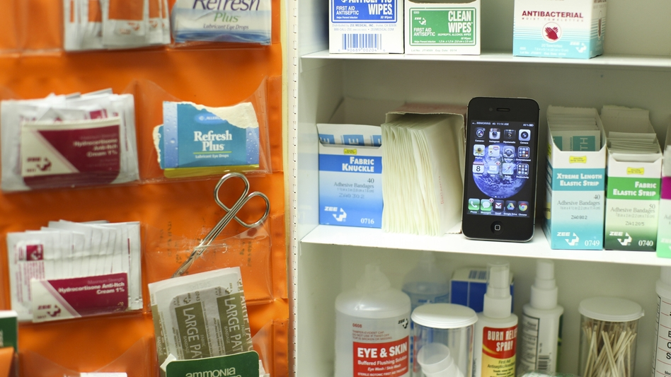 With thousands of medical apps available for download, patients and physicians can instantly keep visual records of wounds and look up symptoms. (NPR)