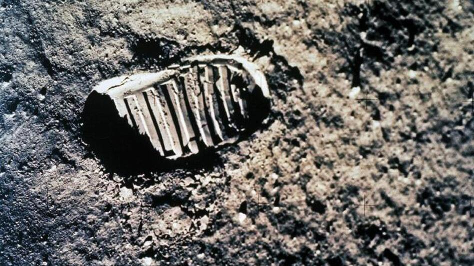 On July 20, 1969, the world watched Neil Armstrong take humankind's first steps on the moon. (NASA)