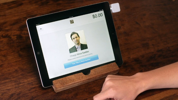 Square allows merchants to accept payments automatically from recognized registered customers. (Square screen grab)
