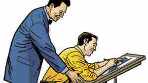 Bill Finger (left) helped create the Batman we know today, including his iconic costume, his tragic backstory, and many of his adversaries.