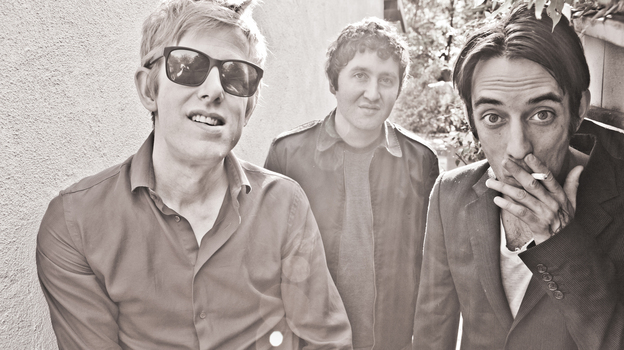 Divine Fits' debut album, A Thing Called Divine Fits, comes out August 28. (Marina Chavez)