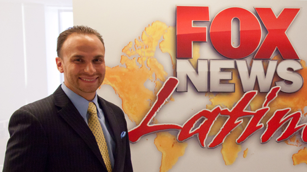 Francisco Cortes started at Fox as an apprentice, then rose through the ranks to become Fox News Latino's first director. (Courtesy of FOX News Latino  )