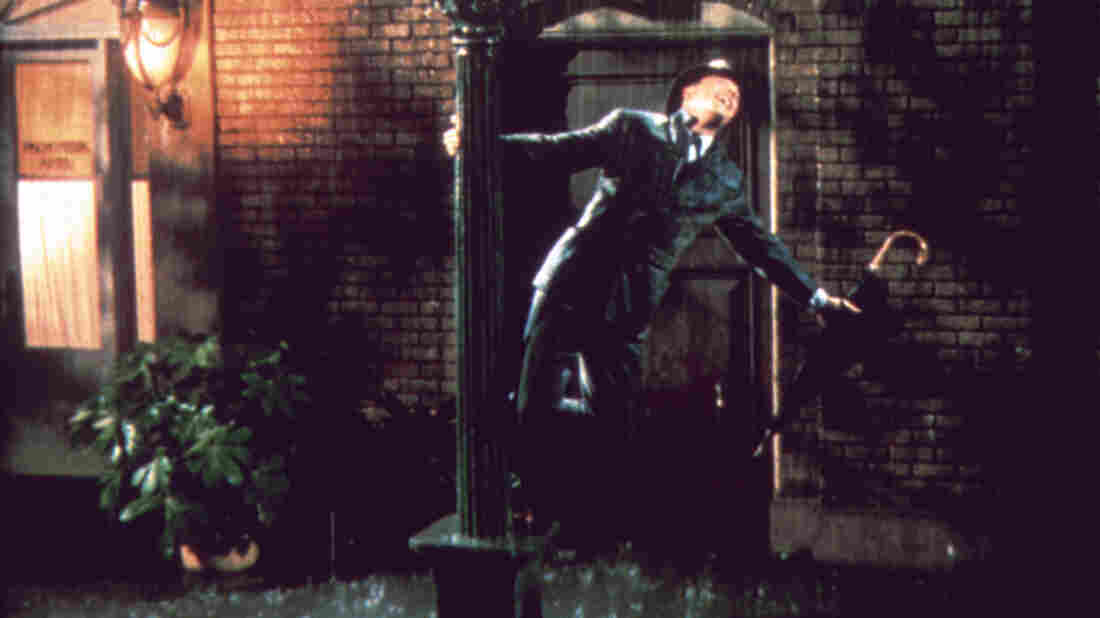 Gene Kelly stars as Don Lockwood in Singin' in the Rain. In celebration of the 1952 musical's 60th birthday, a newly restored print was released in theaters for a one-night public screening, and a new edition has been released on DVD and Blu-Ray.