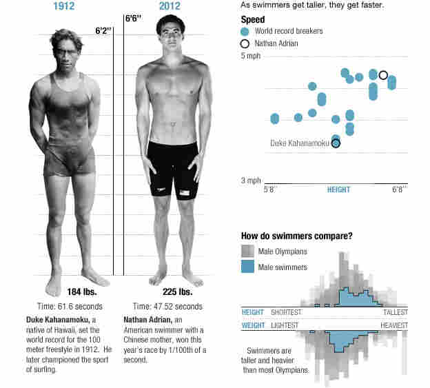 The physics of swimming.