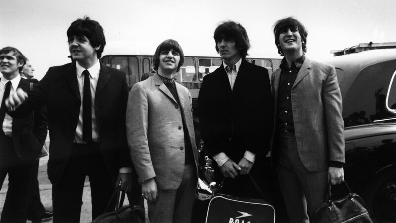 Paul McCartney Ringo Starr George Harrison And John Lennon Prepare To Take Off For A US Tour On Aug 13 1965 Fourteen Days Later Theyd Find