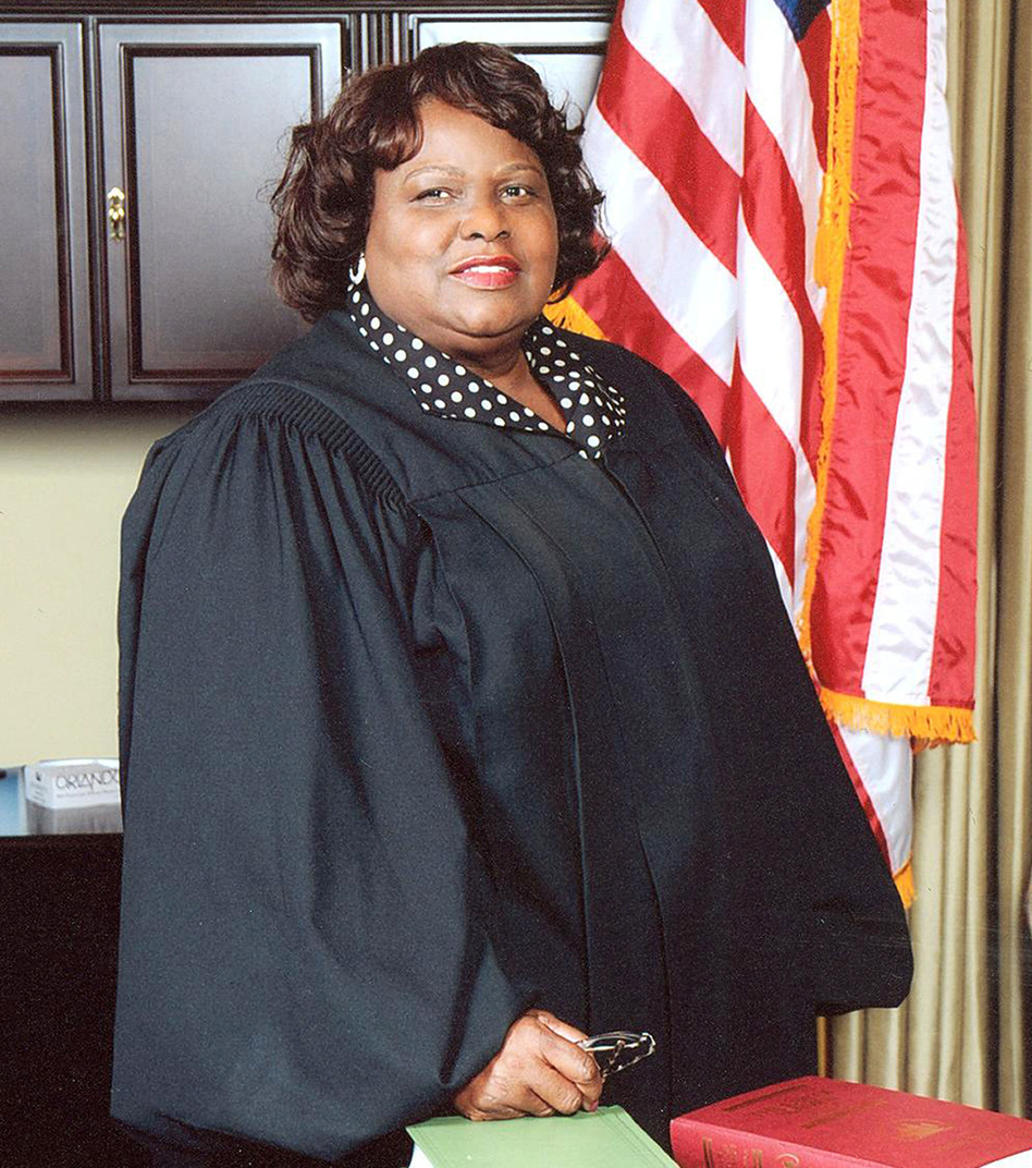 Justice Bernette Johnson is at the center of a legal battle over whether she will be the next chief justice of the Louisiana Supreme Court.