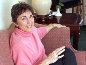 "Best-selling author Rita Mae Brown, pictured here in 1993, is know for her ""Sister"" Jane and Mrs. Murphy mystery series."
