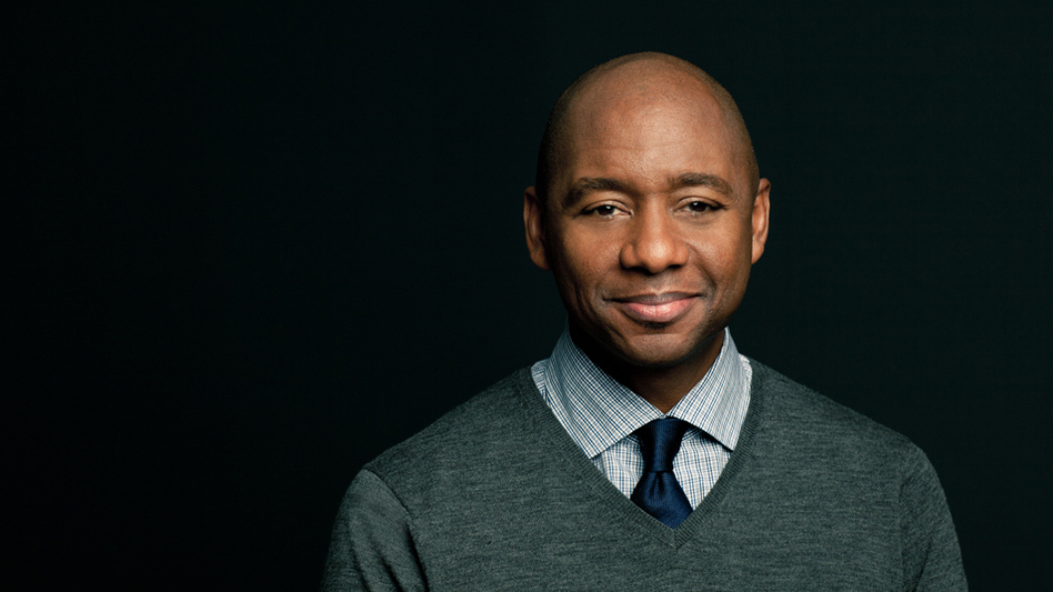 Branford Marsalis spoke with NPR about modern jazz, his family, and his new album, Four MFs Playin' Tunes. (Courtesy of Marsalis Music.)
