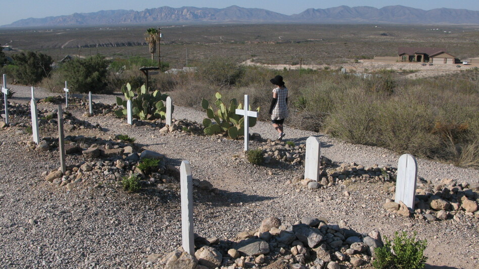 The Boot Hill cemetery in Tombstone, Ariz., is filled with the graves of men who met their end in the Wild West. While there are many such cemeteries in the Western U.S., Tombstone's is considered the most famous. (NPR)