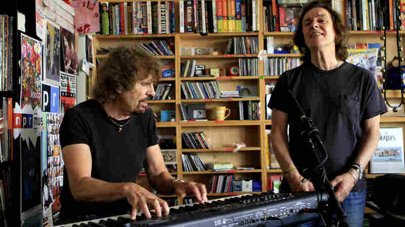The Zombies perform a Tiny Desk Concert.