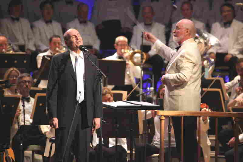 James Taylor, who has made summertime performances at Tanglewood one of his staples in recent years, sang three standards with the Boston Pops and conductor John Williams.