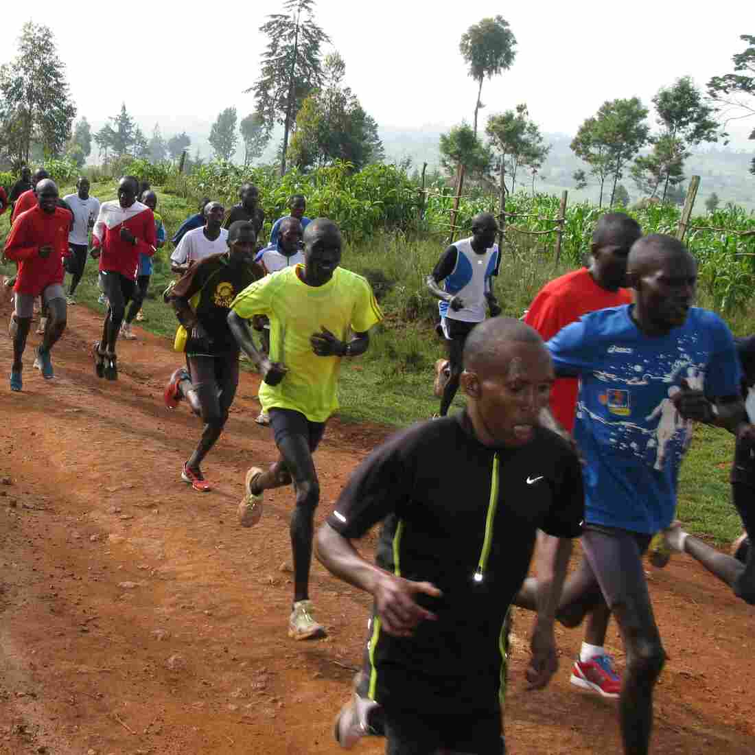 On The Road To Olympic Gold, Kenyan Marathoners Fuel Up On Carbs