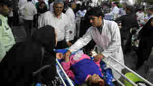 Back-To-Back Earthquakes In Iran Kill Scores Of People