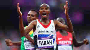 Farah Wins His Second Gold Medal For Britain, In The 5,000m