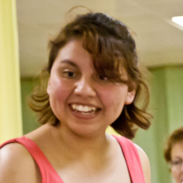 Maricruz Osorio, a KPCK volunteer and Knox College student.