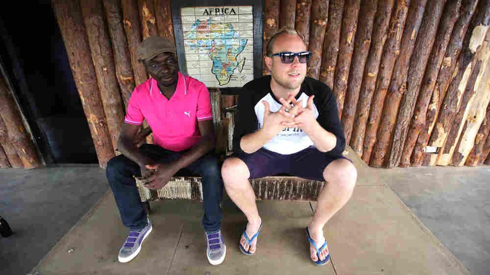 Esau Mwamwaya and Johan Karlberg perform and record as The Very Best.
