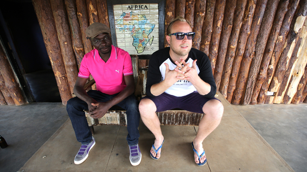 Esau Mwamwaya and Johan Karlberg perform and record as The Very Best. (Courtesy of the artist)