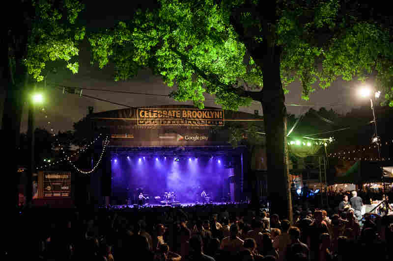 Celebrate Brooklyn is a 34-year-old free concert series in Prospect Park.