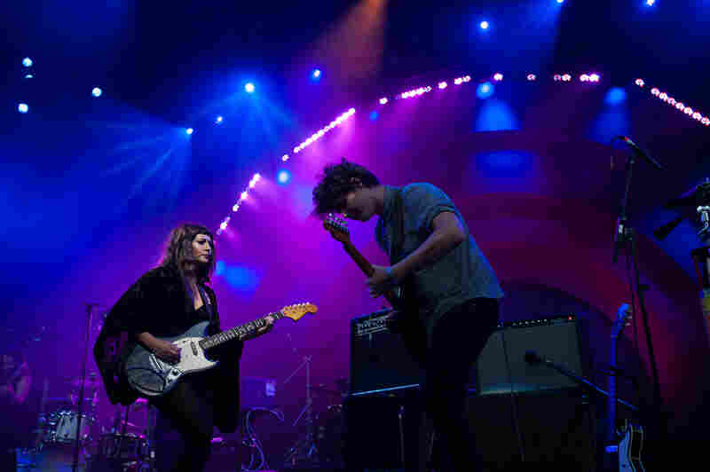 The Brooklyn-based singer-songwriter was right at home on the Prospect Park Bandshell stage.