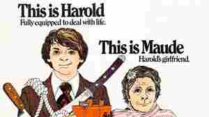 A movie poster of Hal Ashby's 1971 cult classic, Harold And Maude.