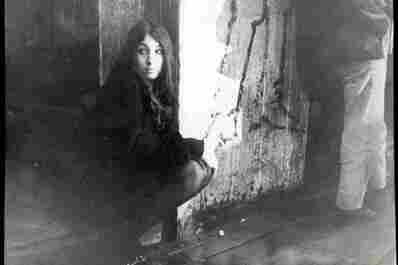 Anjelica Huston as a teen, hanging out
