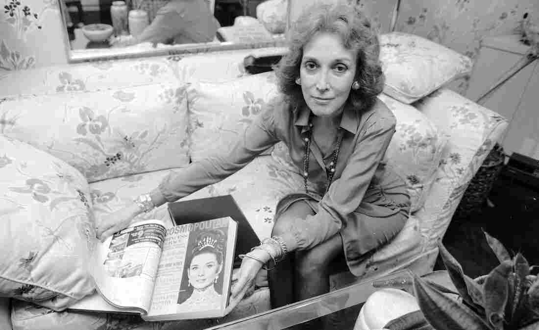 When Helen Gurley Brown took the reins at Cosmo in 1965, it was a foundering monthly known for fiction. She remained at the helm for more than 30 years. Here, Brown poses at her office in New York in September 1985.