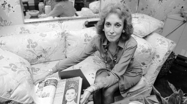 When Helen Gurley Brown took the reins at Cosmo in 1965, it was a foundering monthly known for fiction. She remained at the helm for more than 30 years. Here, Brown poses at her office in New York in September 1985. (AP)