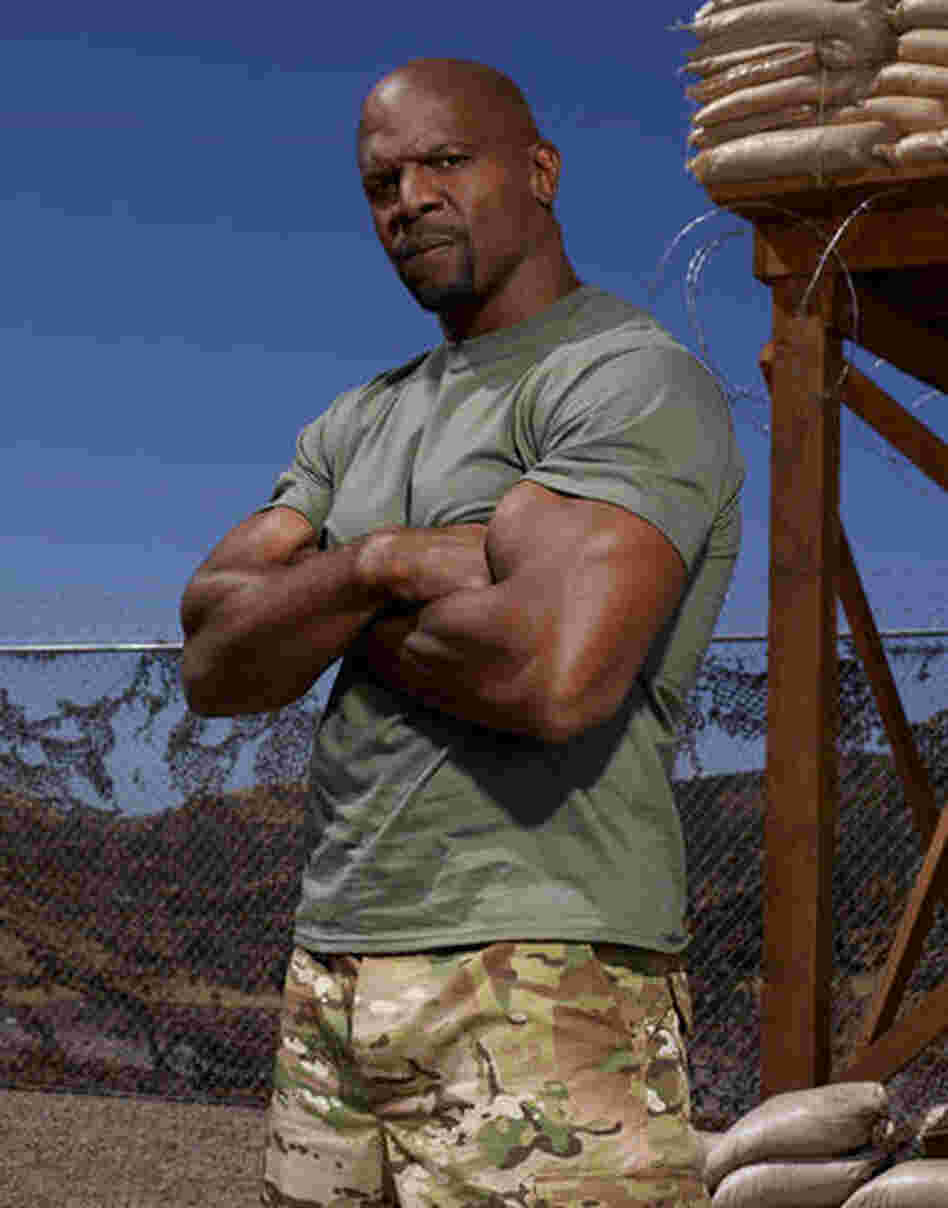 Terry Crews is one of eight celebrities supposedly getting a taste of military life in Stars Earn Stripes.