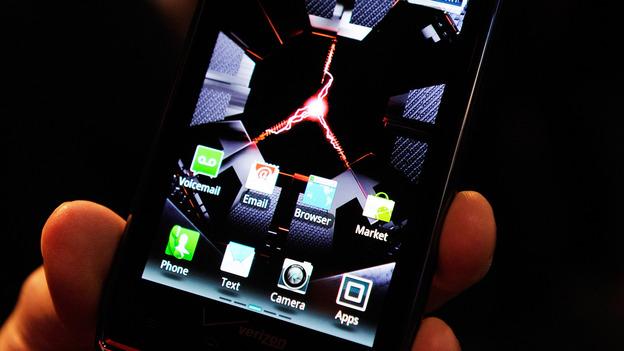 Motorola's Droid Razr Maxx. (Getty Images)