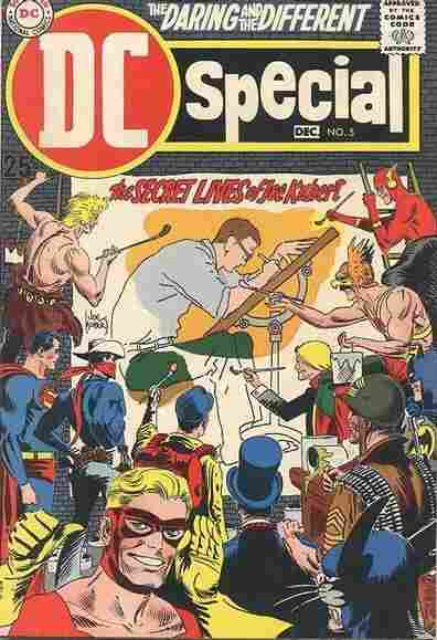 Cover of 1969's DC Special #5, featuring Joe Kubert