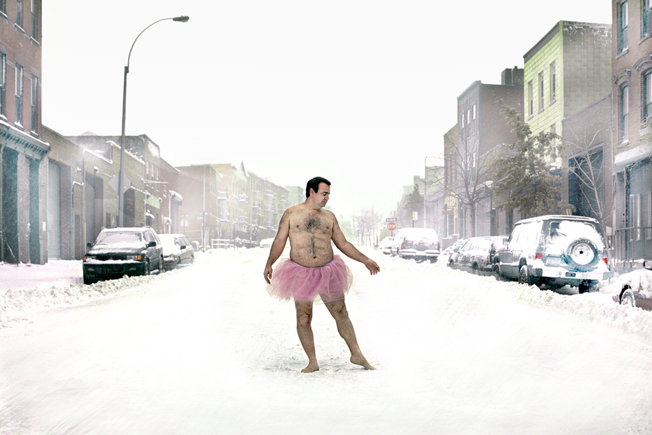 The Tutu Project was Bob Carey's way of coping with his wife's cancer. (The Tutu Project)