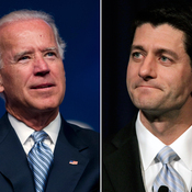 Vice President Joe Biden and Wisconsin Rep. Paul Ryan.