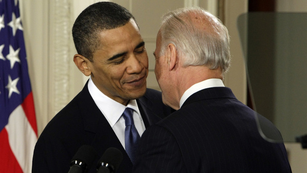 March 23, 2010: Vice President Biden famously drops an f-bomb. (AP)