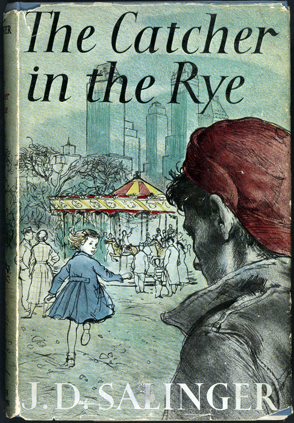 "This 1951 copy of J.D. Salinger's <em>The Catcher in the Rye </em>is one of 88 books on display as part of the Library of Congress' ""<a href=""http://myloc.gov/exhibitions/books-that-shaped-america/pages/default.aspx"">Books That Shaped America</a>"" exhibit<em>. <em></em></em><em></em>"