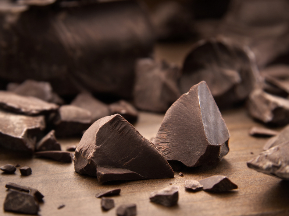 Dark chocolate — it's delicious, and it may be good for your blood pressure.