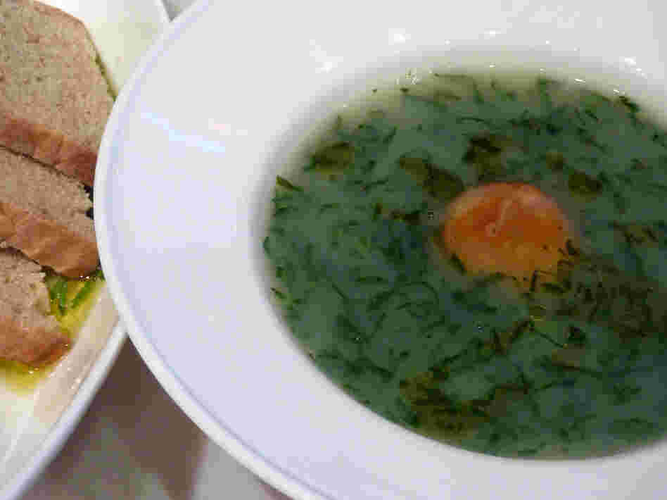 Caldo Verde (Collard Green Soup)