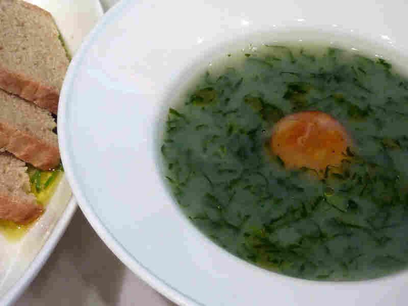 Caldo Verde (Collard Green Soup)
