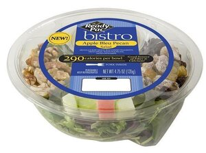 This apple-topped salad is one of several products being recalled for potential contamination with the bacteria Listeria monocytogenes