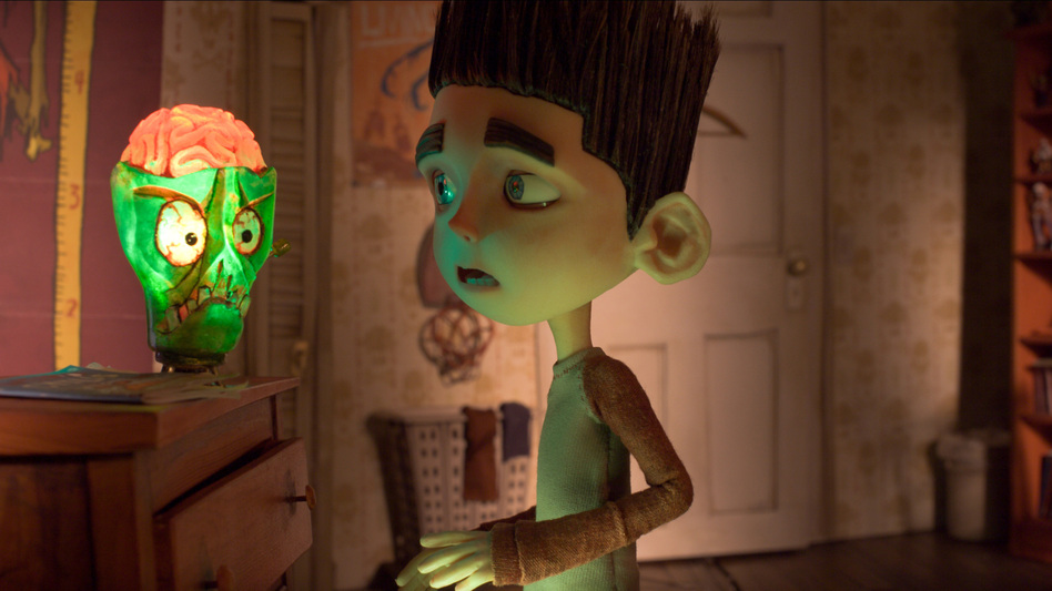 Norman (voiced by Kodi Smit-McPhee) can hear the voices of the dead — which puts the pint-sized outcast in a position to save his town when zombies arrive. (Focus Features)