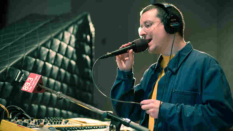 Hot Chip's Alexis Taylor.