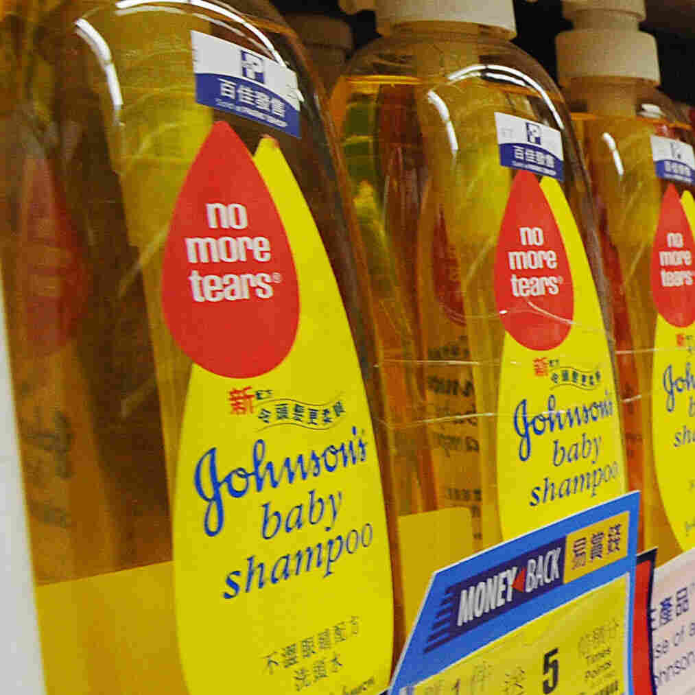 Johnson & Johnson Pledges To Purge Controversial Chemicals