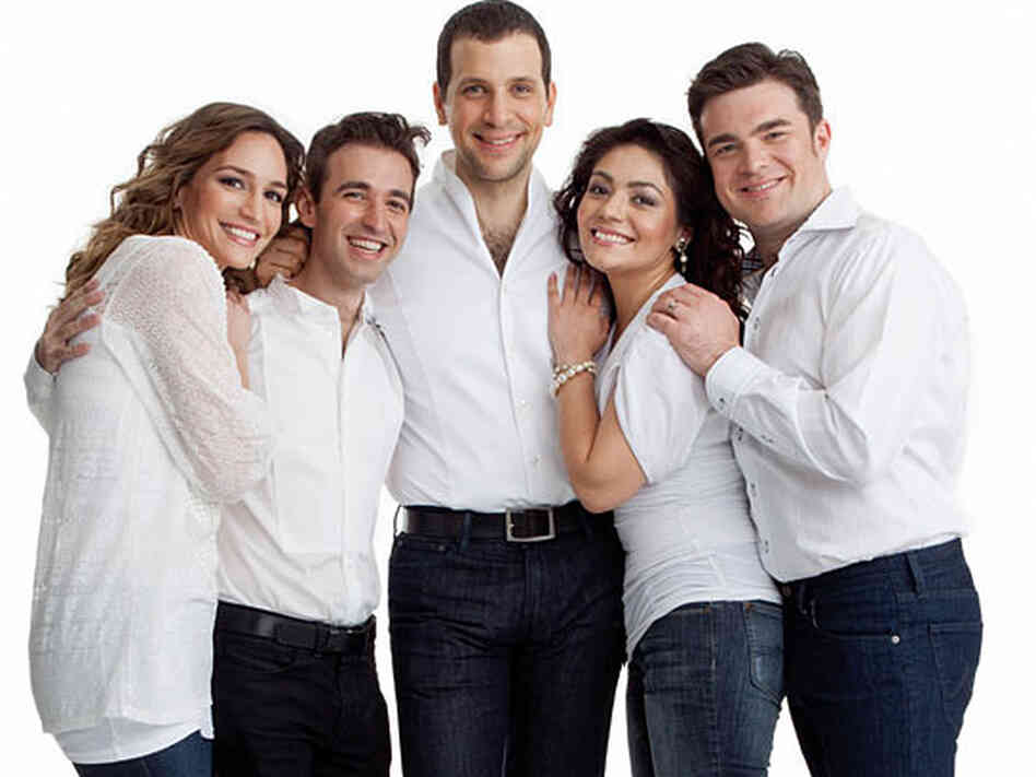 "Appearing in this month's edition of Opera News are a few of opera's ""next wave"" of fresh faces (from left): Kate Lindsey, Anthony Roth Costanzo, Luca Pisaroni, Ailyn Perez and Michael Christie."