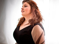 Angela Meade is one of today's promising young opera stars.