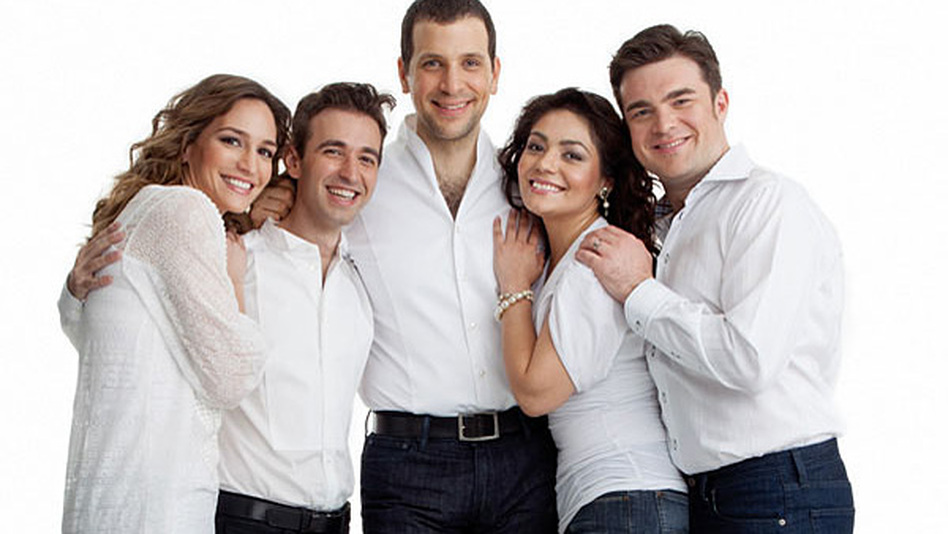 "Appearing in this month's edition of Opera News are a few of opera's ""next wave"" of fresh faces (from left): Kate Lindsey, Anthony Roth Costanzo, Luca Pisaroni, Ailyn Perez and Michael Christie. (Opera News)"
